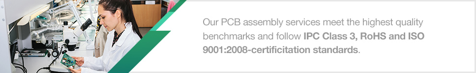 Full Turnkey PCB Assembly Service | PCBCart
